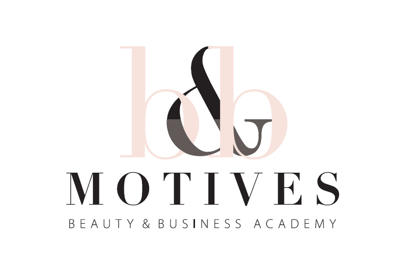 Motives beauty and business academy logo